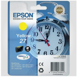 Epson T2704 Y, Original printerpatron