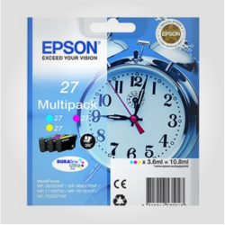 Epson T2705 3-colour sampack, Originale printerpatron