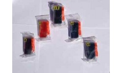 Sæt (5 stk.) PGI 520 BK, CLI 521 BK,C,M,Y, m/chip, kompatible patroner