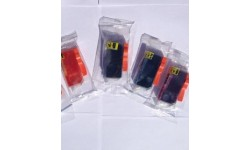 Sæt (4 stk.) PGI 525 BK & CLI 526 C,M,Y, kompatible patroner m/chip