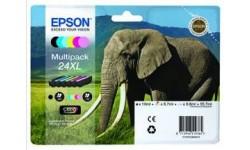 Epson T2438XL, multipack, originale patroner