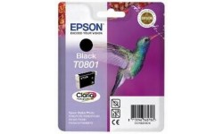Epson T0801 sort Original blækpatron