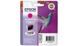 Epson T0803 magenta, original blækpatron