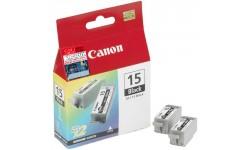 Canon BCI - 15 BK, 2 pack, Originale Patroner