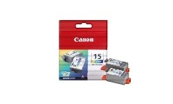 Canon BCI - 15 CMY, 2 pack, Originale Patroner